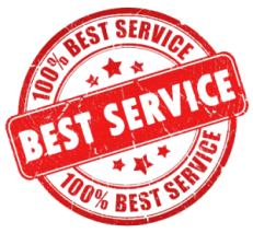 we provide the best service