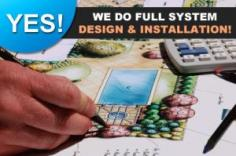 providing full sprinkler system design and installation in Delray Beach
